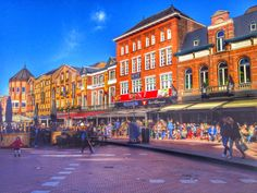 Eindhoven city center, Holland