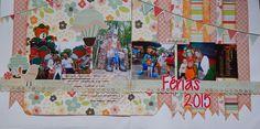 Scrapbook e Tal: Fevereiro 2015