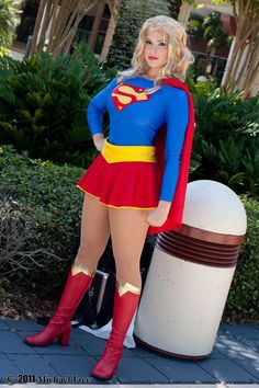 #Supergirl cosplay.