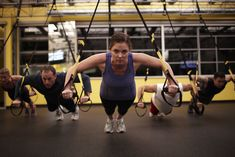TRX is a great workout!  Low impact resistance.  Good for strength and toning - been doing this for 4 months!