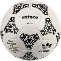 Historia y evolución de los balones de fútbol. - Espinilleras personalizadas Football S, Retro Football, 1970 World Cup, Mexico 86, First World Cup, Fifa, Soccer Ball, Sports, Adidas