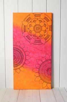 Mandala Art Henna Art Mandala Painting by LavenderHenna on Etsy