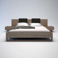 Monroe Bed Walnut from FROY