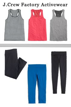 Southern Royalty: J.Crew Factory Acticewear
