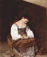 Madalena Arrependida (Caravaggio) – Wikipédia, a enciclopédia livre