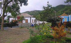 Pequena vila na Brava, Cabo Verde