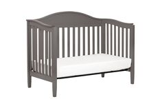 Laurel 4 In 1 Convertible Crib With Toddler Rail
