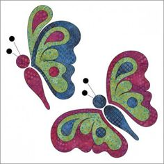 Butterfly Bliss - Applique - Set