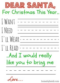 "Think we'll try this or something similar for the girls for Christmas this year. ""Something to wear, something to share, something to read and something they need"" + one extra special item to them."
