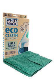 White Magic Dust And Polish Cloth Home Storage Solutions Storage Solutions Storage