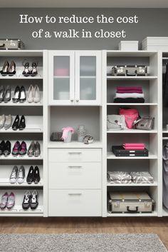 Budget Custom Walk In Bedroom Closet Organizer Tips U2013 Columbus Ohio