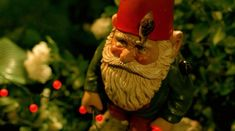 A gnome is necessary. | 22 Ways To Turn Your Life Into Amélie's Life