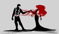Black Bolt and Medusa