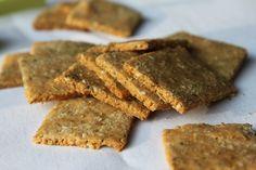 Rosemary and Parmesan Almond Crackers. ☀CQ #glutenfree #snacks  http://www.pinterest.com/CoronaQueen/gluten-free/