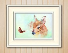 Hey, I found this really awesome Etsy listing at https://www.etsy.com/il-en/listing/262710340/giclee-8x10in-a5-a4-print-deer