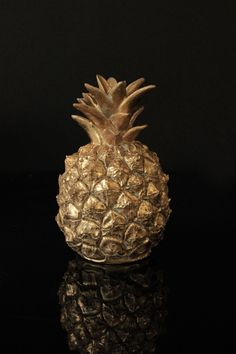 Little Gold Pineapple Ornament - View All - Home Accessories Pineapple Ice Bucket, Gold Pineapple, Decorative Accessories, Home Accessories, Pineapple Ornament, Rockett St George, Off White Walls, Jungle Room, Modern Retro