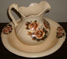 pitcher and wash basin