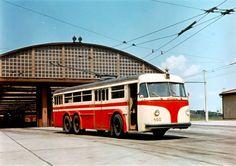 in all its glory at the Vrsovice Depot. Prague Transport, Czech Republic, Bohemia