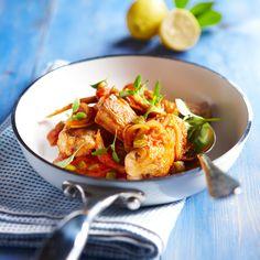 Découvrez la recette Roussette à la provençale sur cuisineactuelle.fr.