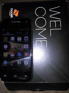 Boost Samsung Galaxy Rush SPH-M830 - 2GB - Black (Boost Mobile) Smartphone #Samsung #Bar