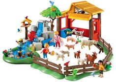 Amazon.com: PLAYMOBIL Children's Zoo: Toys & Games