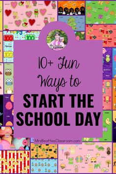 Are you looking for meaningful morning activities for your classroom? Limit the worksheets and check out some hands-on, curriculum-related ideas that will get your students learning from the moment they walk in the classroom! From brain breaks to warm-up activities to morning meeting, it's here!