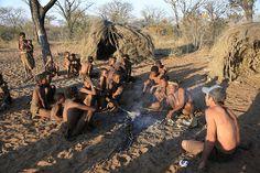 Africa   Ju-Hoansi bushmen village at Grashoek, Namibia.   ©Darren, Global Wandering ~via flickr