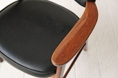 Mid Century Oak Arm Chair by OtherTimesVintage on Etsy
