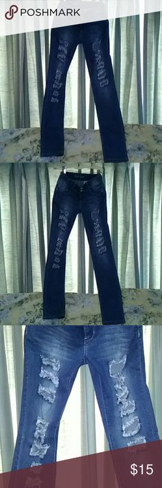 Blue rope jeans Lol low rise jeans blue rope size 5!! blue rope Jeans