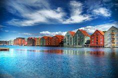 Trondheim ve městě Sør-Trøndelag