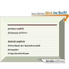 german-englisch dictionary of drives