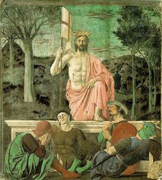 """A Ressurreição de Cristo"". (by Piero della Francesca)."