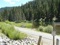 Bike the trail from Tahoe City to Squaw Valley and enjoy the Truckee   River scenery along the way.