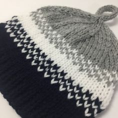 434a7be52c4 Golden Pear Knit Hat – Homemade by Giggles