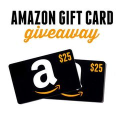 Enter to Win a $25 Amazon Gift Card - Ends November 18th at Midnight