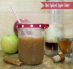 Best Hot Spiked Apple Cider