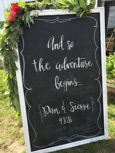 And So The Adventure Begins, Chalkboard Quotes, Event Planning, Art Quotes, How To Plan