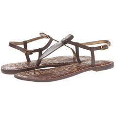 $64.95 Sam Edelman Gigi (Espresso Bean) Women's Sandals