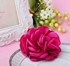 Rose Flower Hair Clip