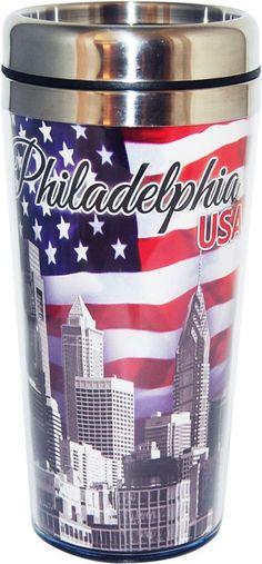 Philadelphia USA Travel Mug