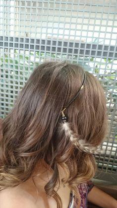 A bohem hairstyle #bohem #hair #curly #shorthair