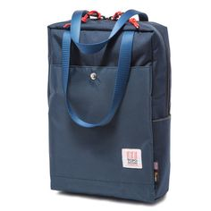 Topo Designs Navy Backpack Tote