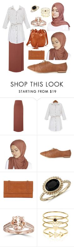 """""""#352   HIJAB   WORK   SCHOOL   SPRING   FALL   SUMMER"""" by rasheel ❤ liked on Polyvore featuring Topshop, Charlotte Russe, ShoeDazzle, SONOMA Goods for Life, Blue Nile, Bliss Diamond and Accessorize"""