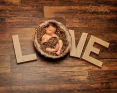 Newborn photography # love  Maybe same idea but spell out a name