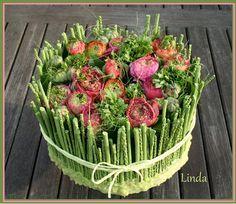 bloemstukken met plantaardige basis - Google zoeken