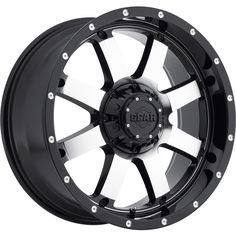 Gear Alloy Big Block Wheel with Machined Finish Offset): New! Cast Wheel Gear Alloy Big Block Engineered to fit over original wheel. Weather resistant and won't rust or corrode. Rims And Tires, Rims For Cars, Wheels And Tires, Car Wheels, Off Road Wheels, Wheel And Tire Packages, Lifted Chevy, Chevy Silverado, Toyota Tacoma