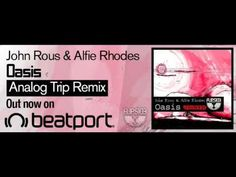 John Rous & Alfie Rhodes - Oasis (Analog Trip Remix) ▲ Flipside Recordings Techno House Music, Rhodes, Oasis, Beats, Globe, Style, Swag, Speech Balloon, Outfits