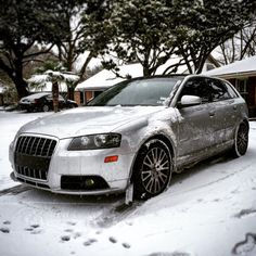 A3 in the snow