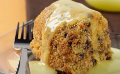 Almond Carrot Cake with Lemon Sauce | Almond Board of California