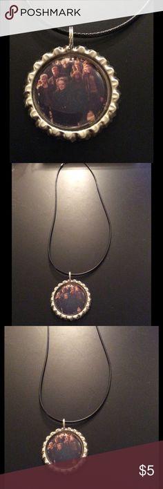 NWOT handmade HP cast bottle cap necklace NWOT handmade HP cast bottle cap necklace Jewelry